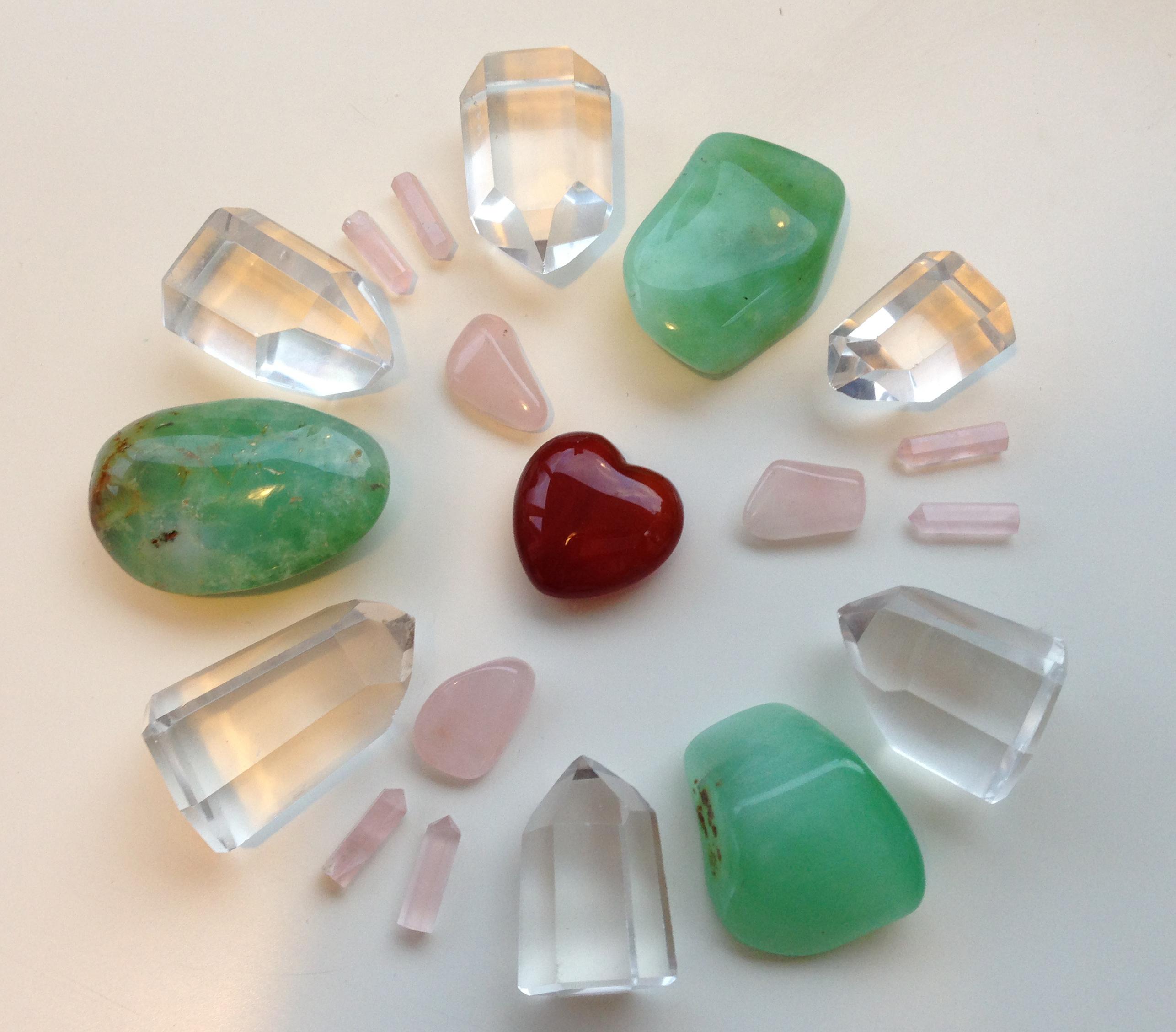 ум и сердце 5 Доверие и принятие, ум и сердце, розовые и зеленые камни
