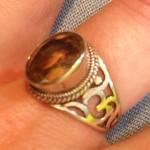 цитрин кольцо на удачу в делах