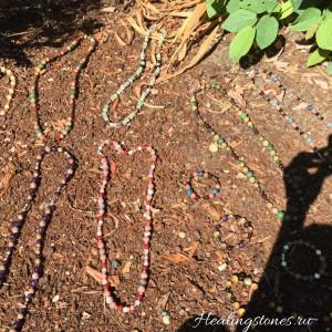 браслет из натуральных камней своими руками свойства