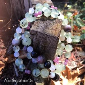 браслет из натуральных камней своими руками