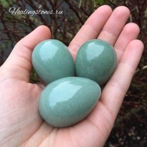 зеленый авантюрин яйцо свойства купить