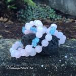 розовый кварц аквамарин свойства